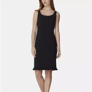 Tahari ASL Ruffled-Hem Dress Size 2
